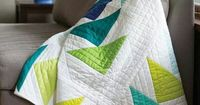Love the simplicity of this quilt.