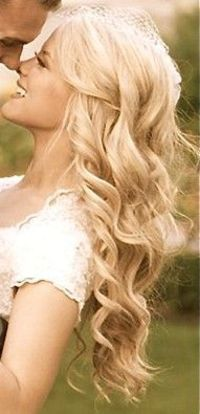 I want this hair for my wedding day!