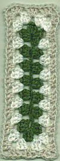 RECTANGLE SQUARE crochet rectangle granny square free pattern�•��Š��œ�Teresa Restegui http://www.pinterest.com/teretegui/�œ��Š��•�