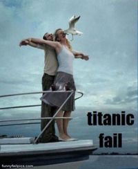 funnie pictures | Titanic Fail - Funny Fail Pictures