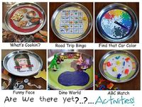 Magnetic Car Ride Games/Activities