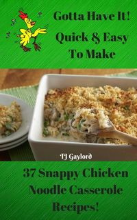 Heaven knows we could use a little bit of easy this week, am I right? The Chicken Noodle Casserole has been around for decades. It's so simple to make and I guarantee your family will all love it. Leftovers reheat really well too! It is positively p...