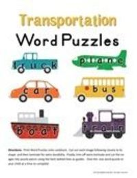 Several printable theme ideas, including word puzzles, a sorting activity, shape vehicles, beginning sound clip cards. Also has activity ideas to go with the theme.