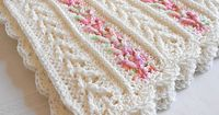 Avalon Baby Blanket pattern by Mary Robinson