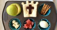 Muffin Tin Meals - So very cute, this one has an Easter theme. Fun lunches for children. . . and moms! Great ideas for getting children involved in the kitchen.