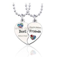 Bff Hearts Matching Necklaces Christmas Gift https://www.gullei.com/bff-hearts-matching-necklaces-christmas-gift.html
