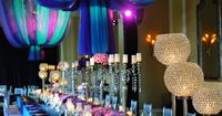 When choosing colors for your wedding, if you don't shy away from vibrant colors and if you like colors in the purple and blue families, then you might want to