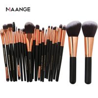 �Ÿ˜�MAANGE 20/22Pcs Beauty Makeup Brushes Set Cosmetic Foundation Powder Blush Eye Shadow Lip Blend Make Up Brush Tool Kit Maquiagem�Ÿ˜� $13.05