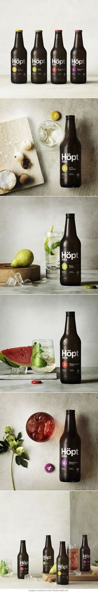 Hopt is a delicious clean soda designed by Lion . Crafted for adults, Hopt blends hop extracts with unique fusions of natural flavors and less than half the sug