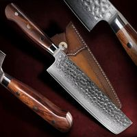 Chef Kitchen Knives Vegetables Nakiri Knife Home Cooking Tool $189.00