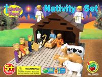 Amazon.com: Trinity Toyz Nativity Set Building Block Set - Compatible with all leading brands!: $25.50
