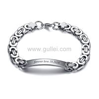 Name Plate Bracelet Anniversary Gift for Husband https://www.gullei.com/name-plate-bracelet-anniversary-gift-for-husband.html