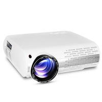 Houzetek M2 Projector LED Beamer 4500 Lumens HD 1080P Projector