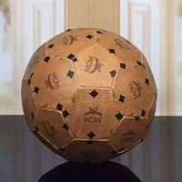 MCM Visetos Football Toy In Brown