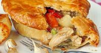 Turkey Pot Pie is just one of 18 great leftover turkey recipes in this collection, just in time for Thanksgiving.