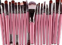 Zhejia 20pcs Make Up Sets Soft Powder Foundation Eyeshadow Eyeliner Lip Makeup Brushes Material: High Quality Goat hair, Nylon material and soft Synthetic. (Barcode EAN = 0725186963276). http://www.comparestoreprices.co.uk/december-2016-week-1/zhe...