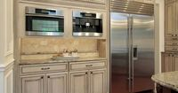 two toned kitchen cabinets | ... of Kitchens - Traditional - Two-Tone Kitchen Cabinets (Kitchen #166