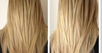 This is the perfect amount of layers! I'll get this at my next cut in November