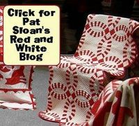 My master list of Red and White Quilt Exhibit sightings... leave me a comment if yours is missing http://patsloan.typepad.com/pat sloan red and white/