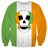 The Irish Skull Sweatshirt $59.95