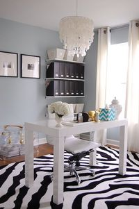 Loved this office so much I redid mine almost exactly! Isn't imitation a form of flattery???