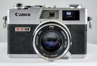 Famous Canon Canonet GIII QL17 35mm Rangefinder Camera with fast 40mm f1.7 Lens. $245.00