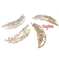 Pack of 5 Big Silver Coloured Metal Leaf Pendants. 65mm x 20mm. Leaves Plant Nature Theme Necklace Charms £9.99
