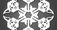 Star Wars Snowflakes! Download the template and cut them out!