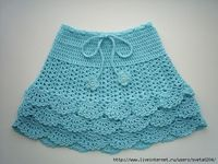 Crochet skirt for girls | Entries for category Skirts crochet for girls | Blog sveta0204: LiveInternet - Russian Service Online Diaries