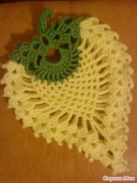 Crochet pineapple placemat �™�LCK�™� with diagram