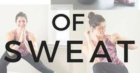 The 7 days of Sweat workouts and meal plan is an awesome way to kickstart your healthy living routine. It includes 7 days of healthy, yummy breakfast lunch and dinner ideas, as well as snacks and dessert!