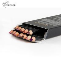 12 colors Beauty Professional Lipliner Pencil Waterproof Long-lasting Contour Lip Liner Pen Soft Red Nude Makeup $4.21