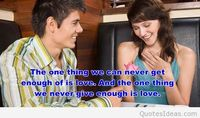 Dating couple quote