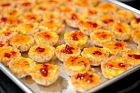 Pimento Cheese Pepper Jelly Phyllo Cups - three ingredient appetizer!