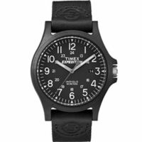 Timex Expedition® Metal Fabric Band Watch - Black @The Lavender Lilac