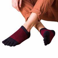 2017 Men Breathable Ankle Low Sport Five Finger Toe Socks Men Yoga Socks Trainer Running Calcetines Ciclismo #EW $5.99