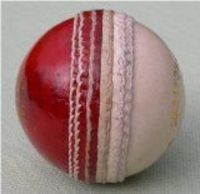 Upfront Cricket Academy Wispering Death Match cricket ball: Swing Spin Seam training balls Wispering Death Match quality ball. UPFRONT Red/White Cricket Ball Leather Part of our top range. The ultimate (Barcode EAN = 5055261103828) http://www.comp...