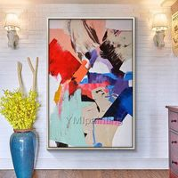 Abstract painting acrylic painting on canvas original huge size abstract Painting Wall Art Pictures for living room cuadros abstractos $89.00