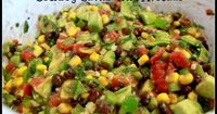 Cowboy Caviar with Avocado... this stuff is awesome! !! I use Rotel as my tomatoes, and fiesta corn in place of plain. It's amazing! !!-ct