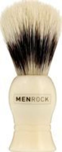 Men Rock For Shaving The Just Like Badger Brush The Men Rock Just Like Badger Shaving Brush is a pure bristle brush which mimics the actions of badger hair at a lower price. Suitable for all beard types, the natural fibres hold a good amount of wat http:/...
