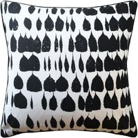 Queen of Spain Black Pillow by Ryan Studio $272.00