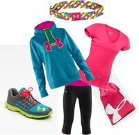 """""""Under Armour Day."""" by kburnikel on Polyvore"""
