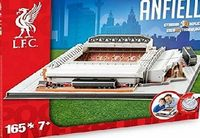 NANOSTAND Liverpool Anfield 3D Puzzle A 3D puzzle featuring Anfield. This puzzle contains 186 pieces and the finished puzzle measures 12cm x 38.5cm x 30cm. Age suit (Barcode EAN = 5012822037152) http://www.comparestoreprices.co.uk/building-toys/na...
