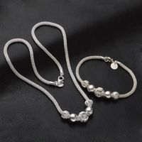 Jewelry Sets Silver-Color beads jewelry R319.20