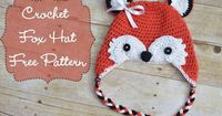 Crochet Fox Hat - Free Pattern