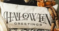 halloween decorhalloween pillowtrick or by EvelynHopeCollection
