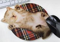 Cute Cat Pattern Mouse Pad - feelgift.com