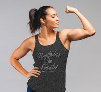 Nevertheless She Persisted Women's Rights Racerback Tank Resistance Persistence Top $32.95
