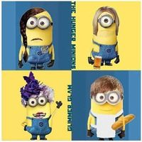 the hunger games minions... OMG!!!!