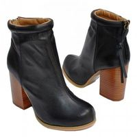 $145.00 JEFFREY CAMPBELL LEATHER RUMBLE BOOT